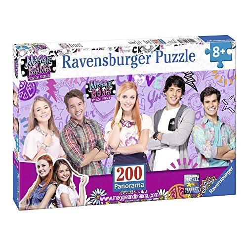 Ravensburger Italy- Maggie & Bianca Fashion Friends Raimbow Puzzle in Cartone, Colore Neutro, 12738 2