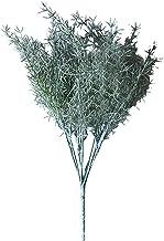3 stks kunstmatige dennen naald gras plastic asperges planten nep bloemen voor thuis hotel tafel decoratie (Color : A)