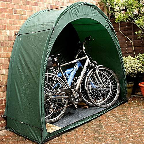 Exnemel Copertura per Biciclette, Grande capannone per Biciclette Impermeabile, per Esterni, per Giardino, Campeggio, Pesca (Verde)