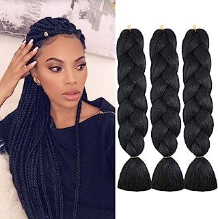 WOME Braiding Hair Jumbo Braiding Hair 3Pcs/Lot High Temperature Synthetic Crochet Braids..