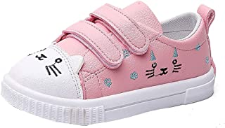 VEKDONE Kids Boys Girls Cat Sneakers Sports Running Shoes Baby Infant Casual Shoes