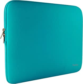 Naukay 15.6 Inch Laptop case Bag,Against dust Resistant Neoprene Notebook Computer Pocket Sleeve/Tablet Briefcase Carrying Bag Compatible 15-15.6 Inch HP/Dell/Asus/Acer/Toshiba/Fujitsu-Blue