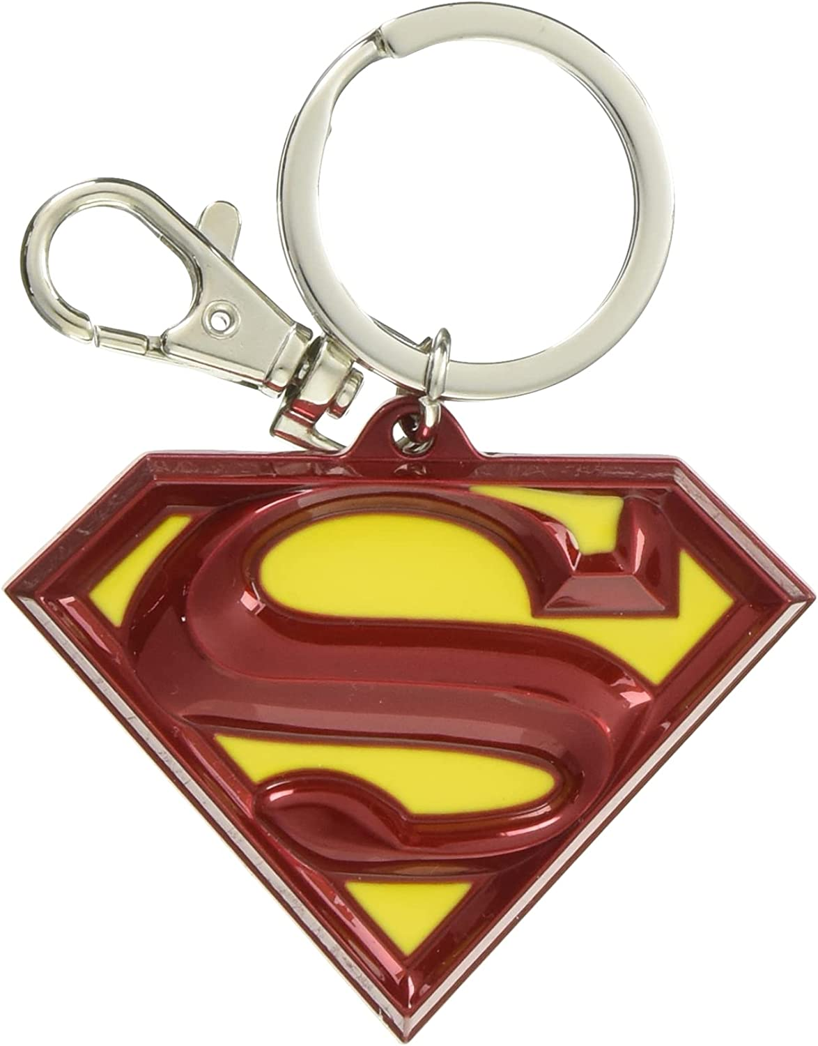 Sales for sale DC Colored Superman Logo Ring Pewter Animer and price revision Key