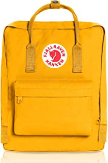 Fjallraven Kanken Classic School Backpack is perfect for boys and girls. Classic school travel handbag ( colorful)