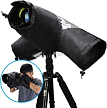 Professional Photo Rain Cover, CADeN Rain-Waterproof Camera Protector Cover for Canon Nikon Sony DSLR and Mirrorless Cameras