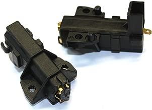 2 x CANDY ORIGINALE Performa tipo Lavatrice Motore Carbonio Spazzola di ricambio