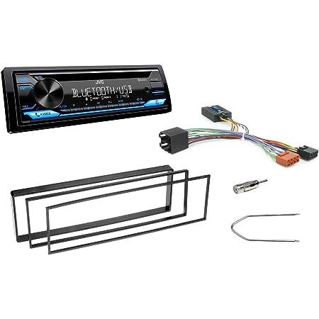Niq Autoradio Einbauset Geeignet Für Citroen C2 C3 Elektronik