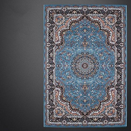 BAGEHUA maßgeschneiderte Kunst türkische Wohnzimmer blau Iranische Teppich Neue Amerikanische Französisch, 1.6Mx2.3M, Mz 8818 Bs