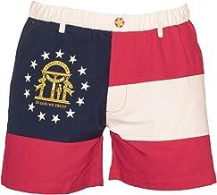 Meripex Apparel Mens North Carolina Flag 5.5 Inseam Shorts NC