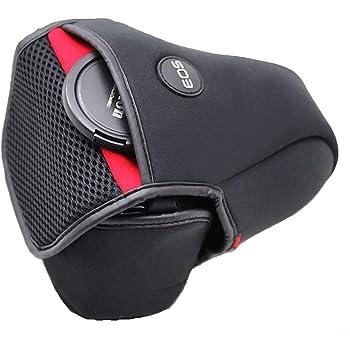 Techlife Neoprene DSLR Camera Protective Pouch Case for Canon EOS R/EOS RP, 24-105 mm Lens, Canon 80D 70D 60D 760D 750D 77D 800D 750D 760D 650D 600D, 18-135 mm STM Lens/15-85 mm Lens/18-55 mm STM Lens