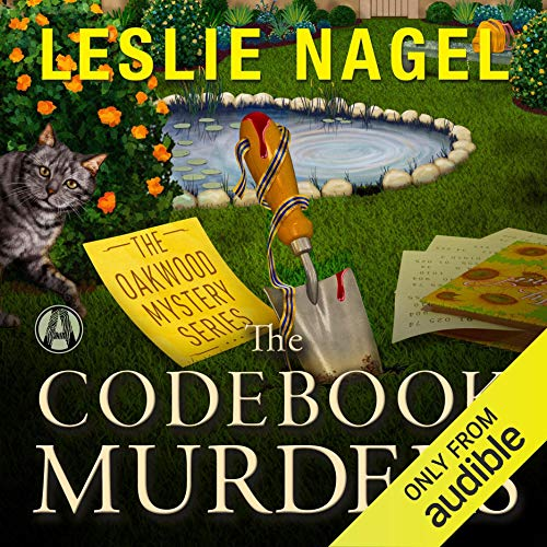 The Codebook Murders audiobook cover art
