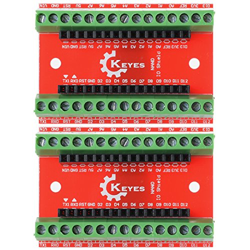 XCSOURCE Bordo 2PCS Terminal Adapter per Arduino Nano V3.0 AVR ATMEGA328P-AU Modulo TE247