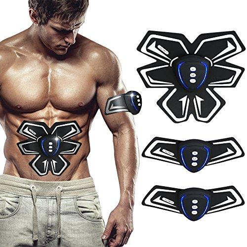 SHENGMI Elettrostimolatore Muscolare, EMS Electric Massager Bodybuilder Muscoli Braccio del Corpo e...