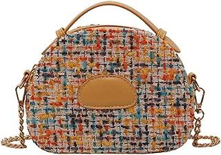 Crossbody bag Chain One shoulder fashion handbag Multicolor