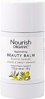 Nourish Organic Replenishing Beauty Balm, Sweet Orange and Palmarosa, 1.75 Ounce