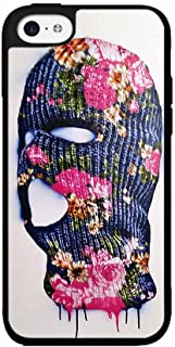 BleuReign(TM) Floral Ski Mask Plastic Phone Case Back Cover iPhone 5 5s and iPhone SE