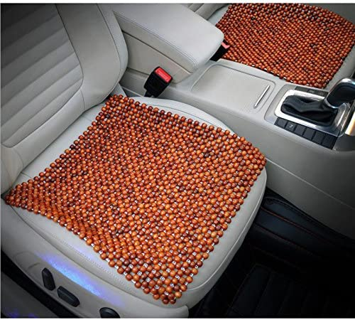 Top 10 Best 1x auto car truck natural wood beaded massage seat cover Reviews