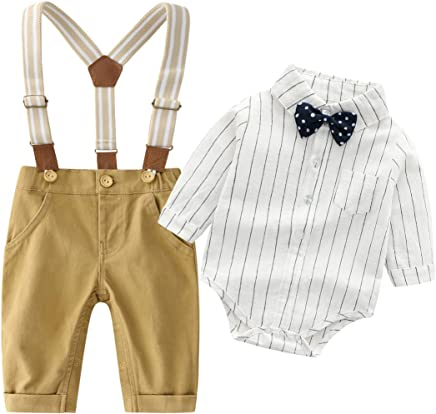 59e1f42013d Baby Boys Gentleman Outfits Suits