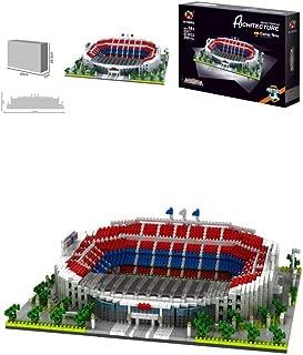 Sports Stadium 3D Model, Bassano Camp Stadium Model Souvenir DIY Plastic Building Model (3600), Gift Set, 11
