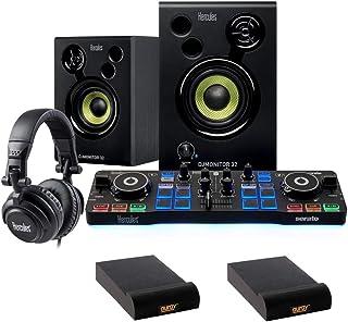 Hercules DJ Starter Kit with (2) IP-S Isolation Pad (Small, Single) Bundle
