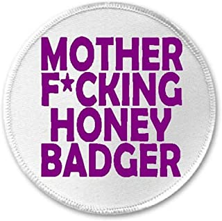 honey badger iron on patch