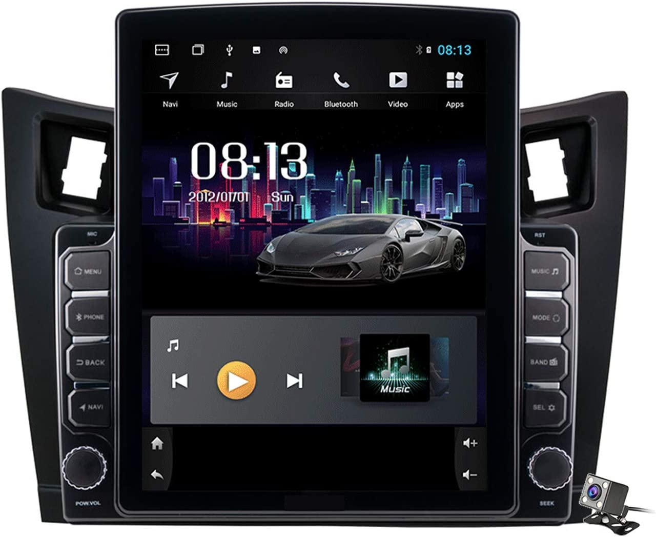 HBWZ Android 9.0 Car Stereo Radio Yaris XP90 Toyota 2005-20 for Over item handling Seattle Mall