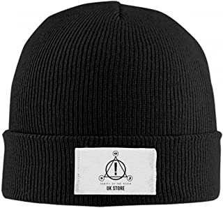 Babmllm Beanie Hat Panic at The Disco Logo Winter Warm Slouchy Skull Cap Knit Hat for Womens Mens