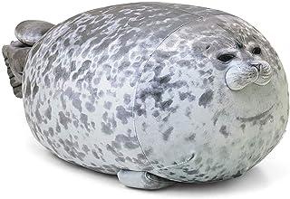 Updated Chubby Blob Seal Pillow RAINBEAN Updated Ocean Animal Soft Fluffy Plush Toy, Cotton Stuffed Cushion Cute Plushie P...