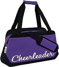 Chassé Girls' Micro Cheerleading Duffle Bag - Purple