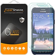 (3 Pack) Supershieldz for Samsung (Galaxy S6 Active) (Not Fit for Galaxy S6 Model) Tempered Glass Screen Protector, Anti Scratch, Bubble Free