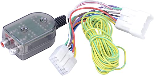 popular Mallofusa Add an Amplifier Adapter W/Amp Turn outlet online sale On Wire Harness Compatible popular for Toyota Subaru Scion Lexus Select outlet online sale