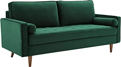 Amazon.com: Jennifer Taylor Home Nicholi Sofa, Opal Gray ...