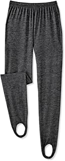 Knit Denim Stirrup Pants