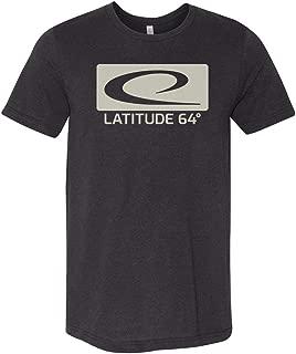 Latitude 64 Golf Discs Box Logo Short Sleeve Disc Golf T-Shirt