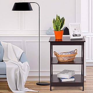 camera da letto per soggiorno Tavolino da comodino qualsiasi stanza con 3 ripiani Jeerbly Leisure Zone bianco cucina