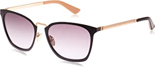 Calvin Klein Square Women's Sunglasses Black 135 mm (CK8029S Black)