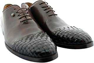 Oscar William Brown William II Men's Luxury Classic Handmade Leather Shoes
