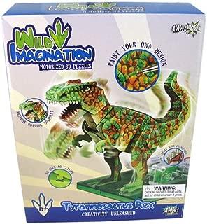 wild imagination Tyrannosaurus Rex Motorized 3-D Papercraft Kit