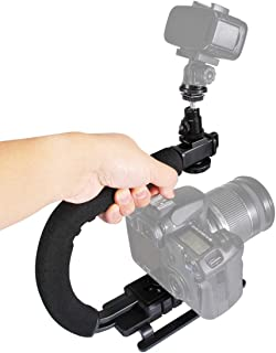 JINGZ 2-Way Pan//Tilt Tripod Head Panoramic Photography Head with Quick Release Plate /& 3 Bubble Level Durable