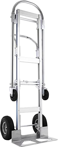high quality SHZOND Aluminum Hand Truck sale 2 in 1 Convertible Hand Truck online sale 770 LBS Capacity Hand Truck and Dolly Utility Cart outlet online sale