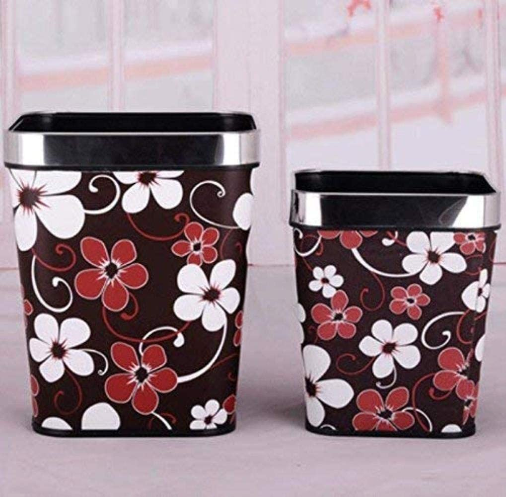 AINIYF European Fashionable Trash Lowest price challenge Cans Tras Can Be 67% OFF of fixed price Household Not