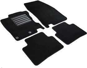 Lupex Shop tpmis2fix _ qashqai Tapis de sol S2Tapis de sol en moquette avec logo pour qashqai série 2avec 2clips