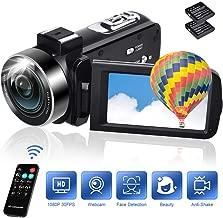 Camcorders Video Camera 18X Digital Zoom Volg Camera...