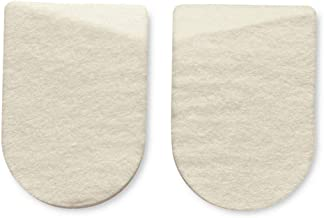 HAPAD Medial/Lateral Heel Pads, 2-1/2x3-5/8, case of 12 pairs