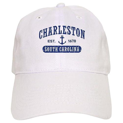 6993ab9f58d8a CafePress - Charleston South Carolina - Baseball Cap with Adjustable  Closure