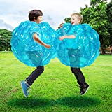 SUNSHINEMALL 1 PC Bumper Ball, Inflatable Body Bubble Ball Sumo Bumper Bopper Toys, Heavy Duty Durable PVC Vinyl Kids Adults Physical Outdoor Active Play (24inch, 1pcs red)