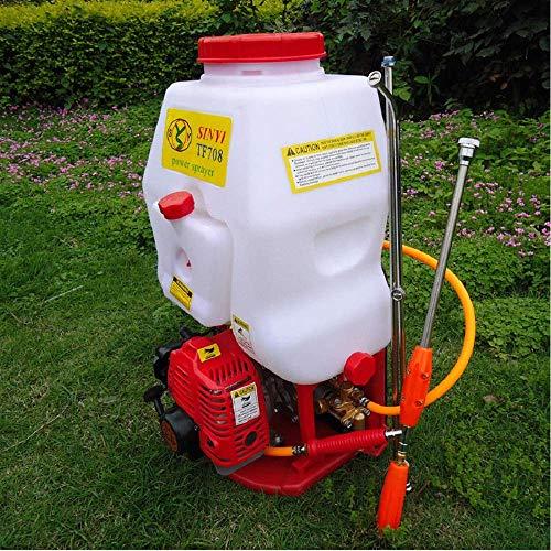 Nfudishpu Zaino agricolo Spray Spray spruzzatore Spray da Giardino Spray per Erba Fertilizzante Spray 20 Litri