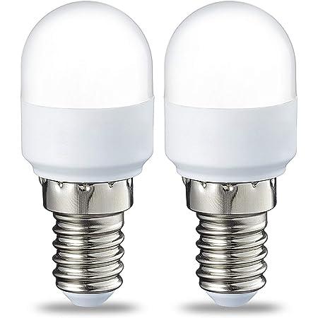 Amazon Basics Ampoule LED E14 T25, avec culot à vis, 1.7 W (équivalent ampoule incandescente de 15 W), Blanc chaud - Lot de 2