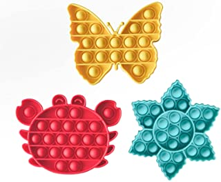 Warju Pop Toys 3 Pack, Great for Kids and Adults
