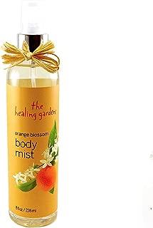 Pdc Brands The Healing Garden Orange Blossom Body Mist for Women, 8 Ounce